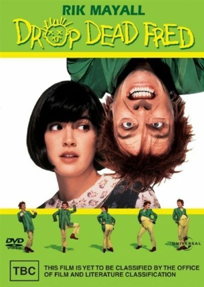 Drop Dead Fred - DVD Free Shipping..NEW & SEALED  RIK MYALL    TZ1