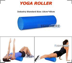 45x15cm yoga ab roller eva physio foam pilates back gym