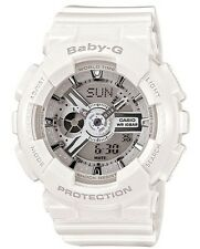 Casio Baby-G * BA110-7A3 Anadigi White & Silver Women MOM17 COD PayPal
