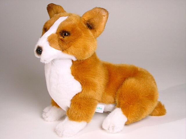 Pembroke Welsh Corgi Puppy by Piutre, Made in , Plush Stuffed Animal NWT