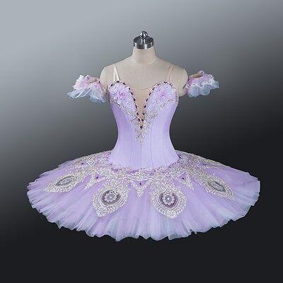 CHILD/'S SIZE 12-14 Fairy Dress Dance Ballet Costume Aqua /& Purple Princess