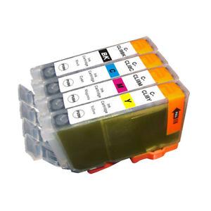 4-NON-OEM-INK-CARTRIDGE-CANON-PGI-5-amp-CLI-8-PIXMA-IP4300-IP4500-IP5200-MP500