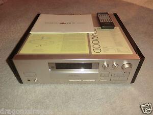 Kenwood DR-W1 High-End CD-Recorder, inkl. FB&BDA, sehr selten, 2 Jahre Garantie