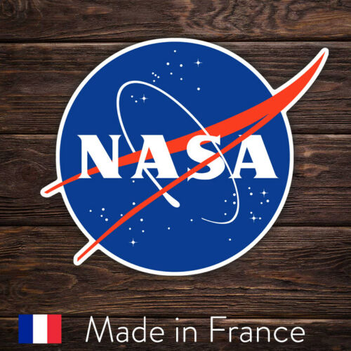 Laptop Mur Smartphone LSN004 Autocollant Sticker Decal NASA Logo Space Espace