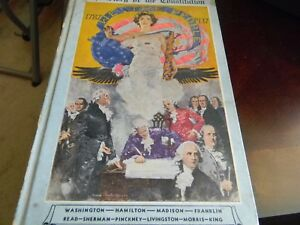 History-US-Constitution-Story-Book-Washington-Hamilton-Madison-Franklin-Unique
