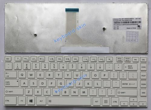 OEM New for Toshiba Satellite MP-11B23US-6981A PK130WG1C00 laptop Keyboard white