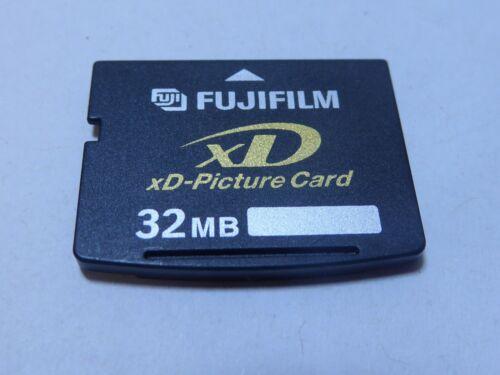 Vintage Fujifilm XD Picture Card Tarjeta de memoria 32 MB Para Fuji Olympus Y Otros