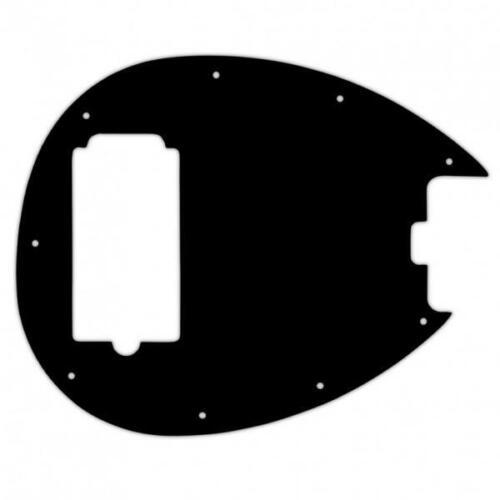 USA CUSTOM PICKGUARD für MUSICMAN® STERLING® SB14 2010 MODEL 3Ply PG BLACK BWB
