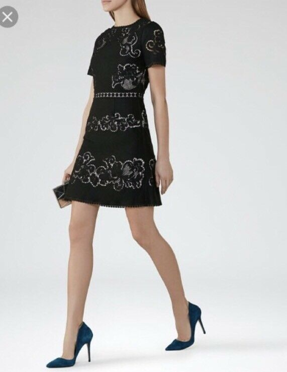 Vestido  de Encaje Reiss Tinley. Talla 0. nuevo con etiquetas. venta al por menor  370  barato y de moda