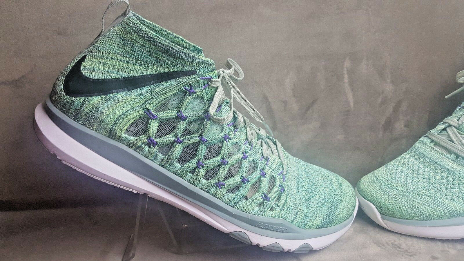NIKE flex speed men's trainers sz 11.5 color enamel green  843694-300