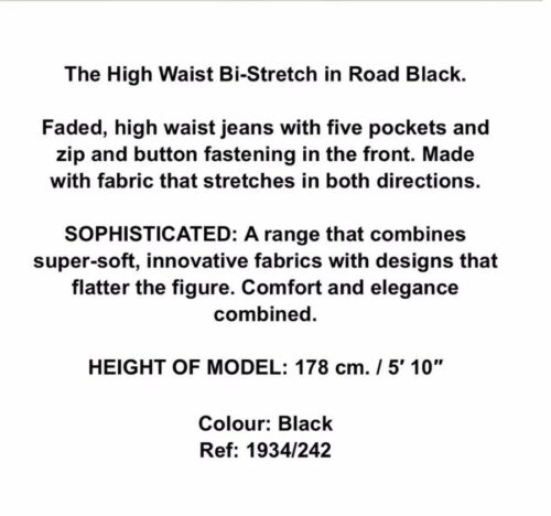 Waist Bi colore stretch The aderenti High sbiadito Us Jeans taglia Zara 2 nero pEqWtx
