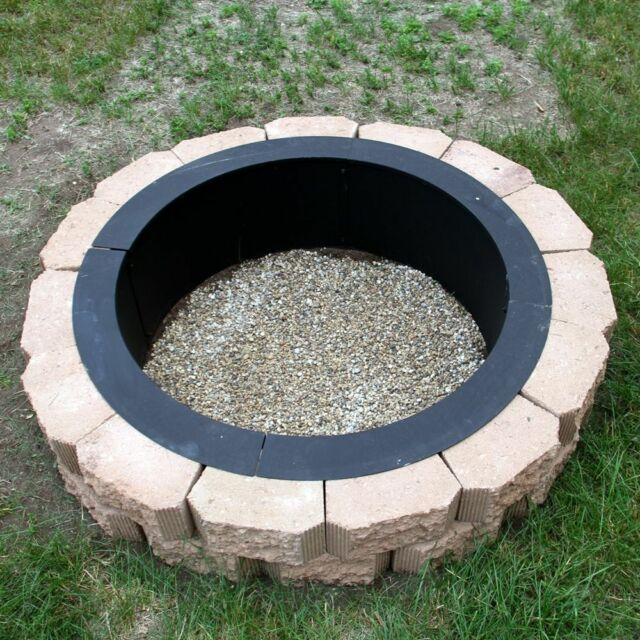 Sunnydaze Décor Make-Your-Own In-Ground Heavy Duty Fire Pit Rim 36