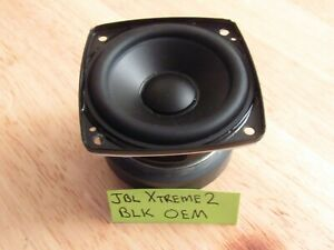Details about JBL Xtreme 2 Black Bluetooth Speaker Driver Sub Woofer New  Replacement Part OEM