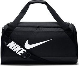 ff9749a0cffb NEW BA5334 010 Nike Brasilia (Medium) Training Duffel Bag !! BLACK ...