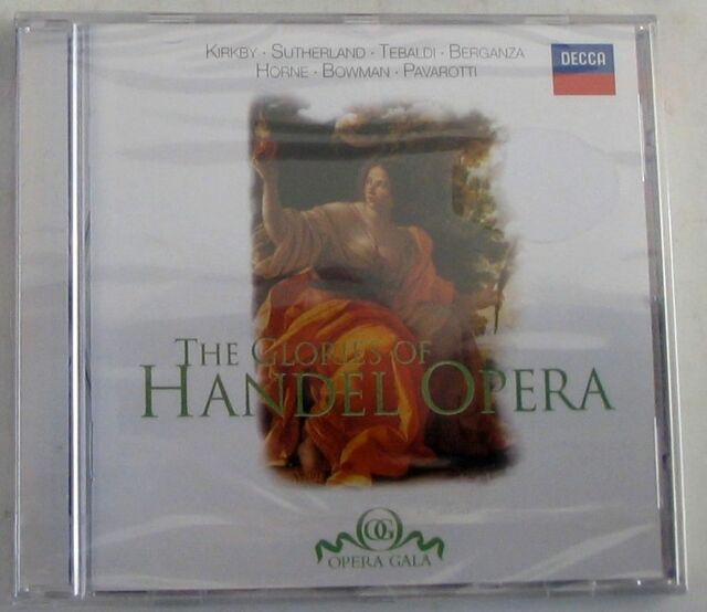 HANDEL G.F. - THE GLORIES OF HANDEL OPERA - CD Sigillato