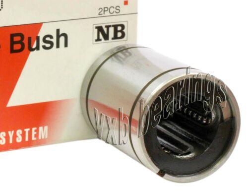 NB SM16GUU 16mm Slide Bush Ball Miniature Linear Motion Bearings 19524