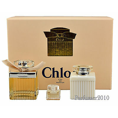 Chloe Chloe 75 ml Eau de Parfum + 5 ml  Miniatur EDP+ 100 ml Bodylotion