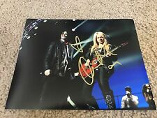 Orianthi Panagaris Autographed 8x10 Photo Micheal Jackson Alice Cooper
