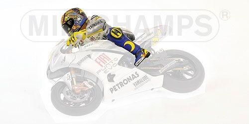 Valentino Rossi Riding Figure GP Estoril MotoGP 2009 1:12 Model MINICHAMPS
