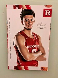 RUTGERS BASKETBALL 2020-2021 MEDIA GUIDE NCAA TOURNAMENT GEO BAKER / JACOB YOUNG