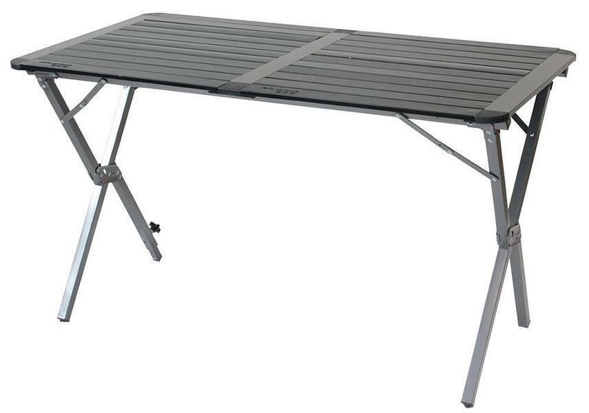 amarillostone-FT012-Aluminio Parte súperior Enrollada Cámping Mesa, doble   grandes precios de descuento