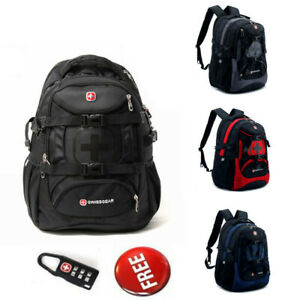 Details About Swiss Army Knife Bag Outdoor Travel Backpack Laptop School Students