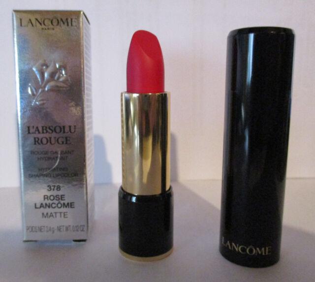 Lancome L'Absolu Rouge Lippenstift Nr.  378 - Rose Lancôme Matte