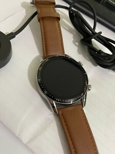 Huawei Watch GT 2 Classic Edition 46mm Stainless Steel Brown Leather Strap