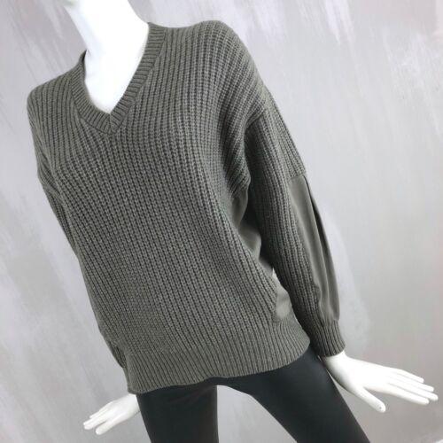 Brunello Cashmere Oversize Sweater Wool Jumper Pullover Silk Chunky Xs Cucinelli R1rwWqtR