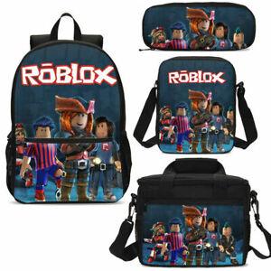 3PCS-Roblox-School-Bag-Set-Kids-Game-Backpack-Book-Bag-Pencil-Case-Lot-Gift