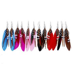 Vintage-Earrings-Retro-Bohemia-Feather-Dream-Catcher-Long-Earrings-Drop-Women
