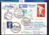 58863) LH FF Frankfurt - Edinburgh GB 28.3.99, Karte SP ab Seychelles Sports