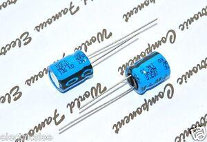 Vishay BC 136 22uF 100V 105°C 10x12mm Radial Capacitor PHILIPS 2pcs