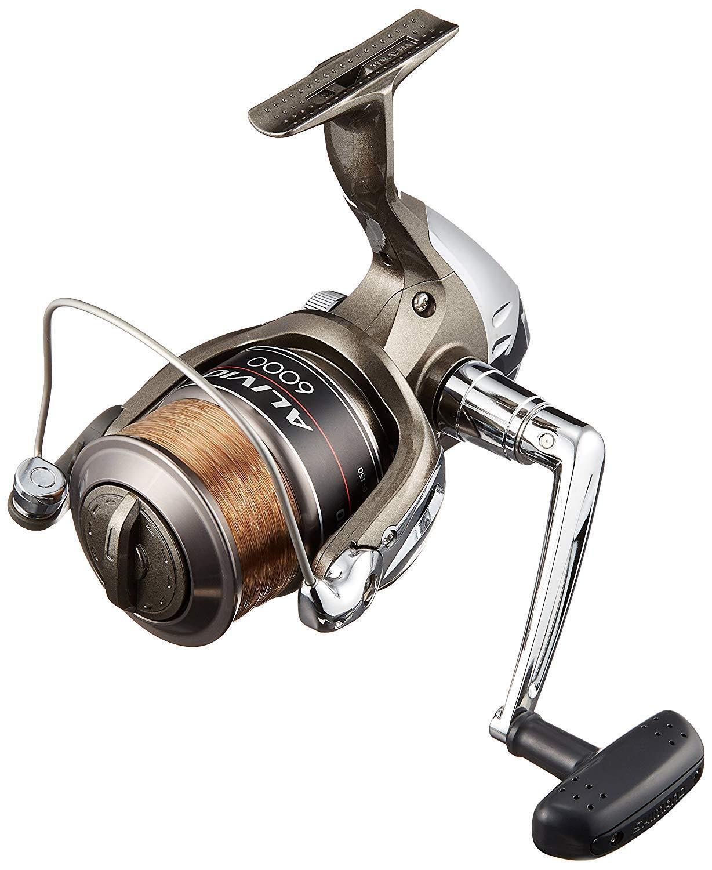 Shimano ALIVIO 6000 w    6 Line Spinning Reel New JAPAN Fishing