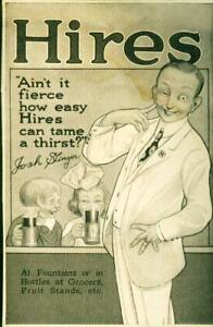 Advertising-Soda-Hires-Root-Beer-034-Ain-039-t-It-Fierce-How-Hires-034-Josh-Slinger-1915