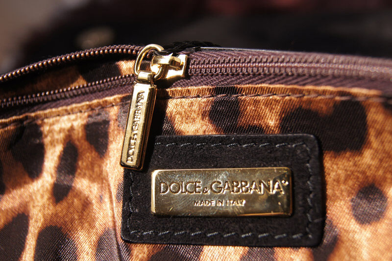 Dolce   Gabbana Miss Sicily Mamma Bordeaux Fox Fur Satchel Bag 100  Authentic  3f5496f4f0a20