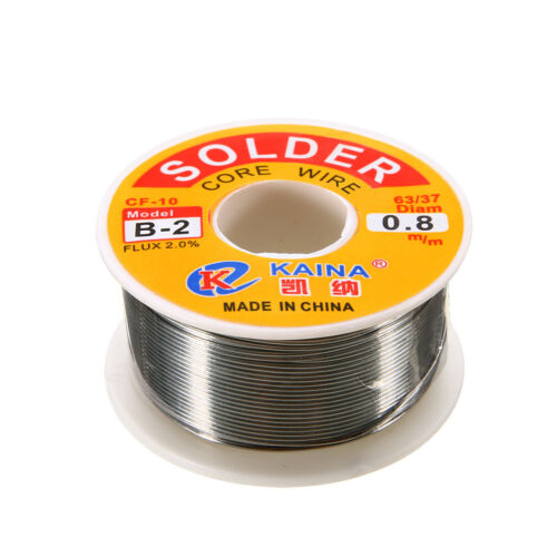 0.8mm 100g 63//37 Tin lead Rosin Core Solder Wire Soldering Welding Flux 2/% New
