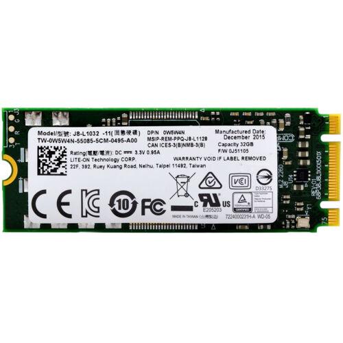 Lite-On 32GB J8-L1032-11 2260 M.2 SSD 60mm B+M Internal Solid State Hard Drive