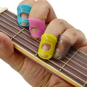 3-PZ-MIX-COLORI-Pollice-per-Chitarra-Picks-Finger-Picks-Plettro-Band-di-alta-qualita-EW