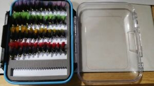 Trout Wet Flies Fly Fishing Flies US Veteran Owned 60 Humpy Fly Box