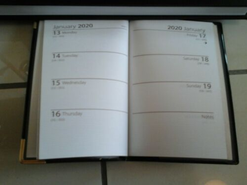 pocket diary day 2 day 2020 diary week to view