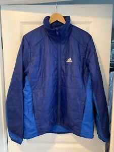 Details about Adidas Outdoor Men's Blue Winter Jacket XL (UK 42 44)