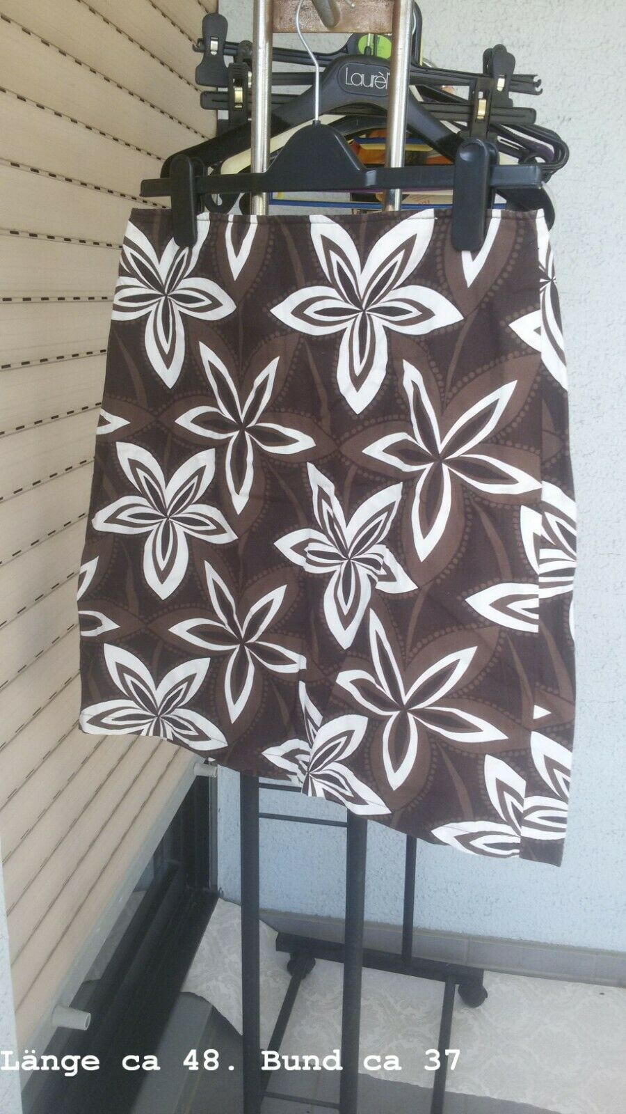 Skirt S. Oliver Size S Brown Pattern Mini VGC Unlined