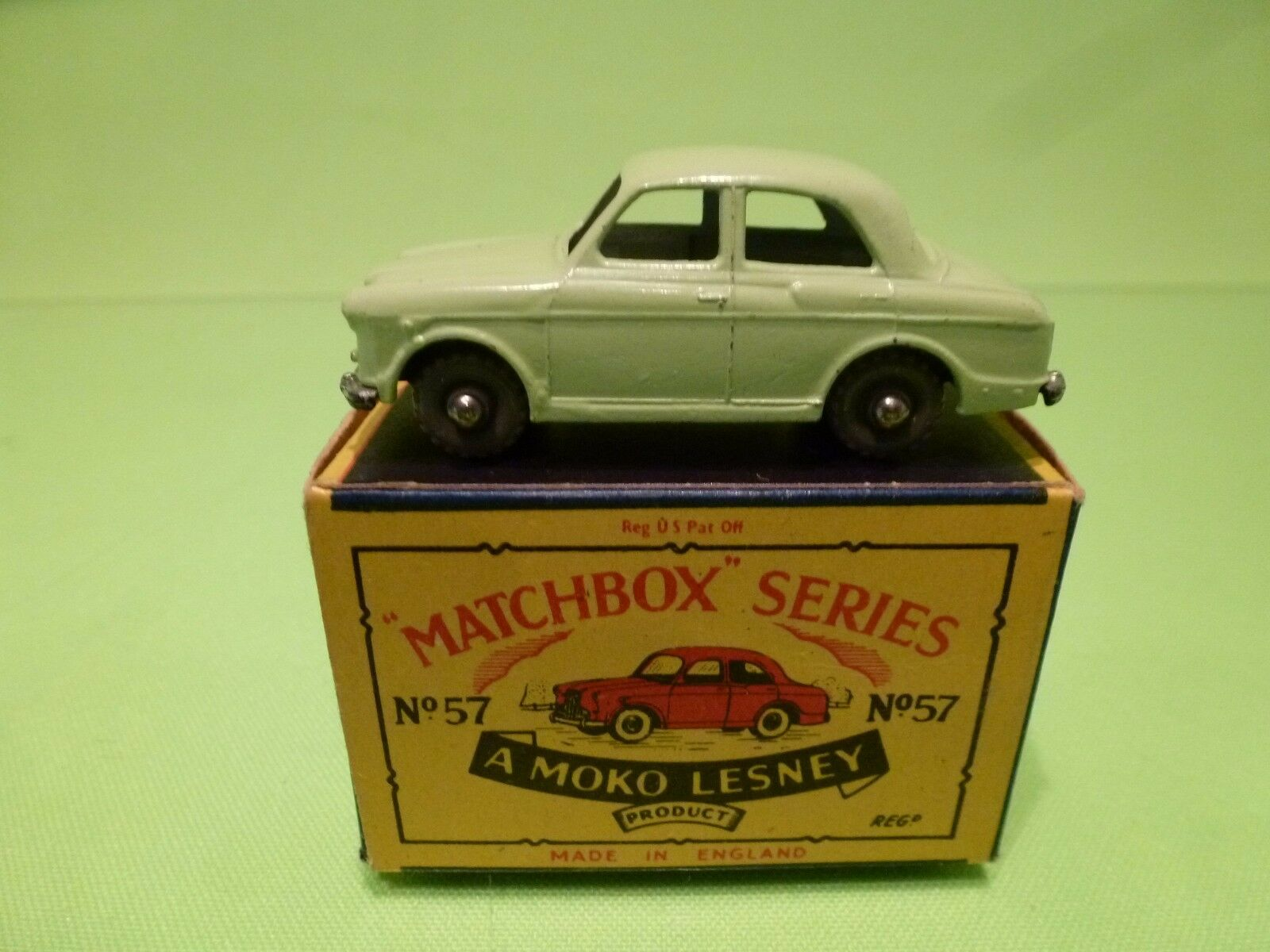 LESNEY MOKO MATCHBOX 57 WOLSELEY 1500 - NMIB - HIGH QUALITY - RARE