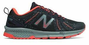New-Balance-Women-039-s-590v4-Trail-Shoes-Navy-with-Orange