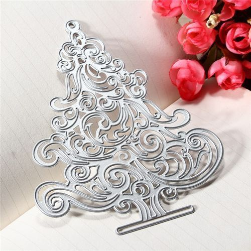 Craft-House /'Swirly Christmas Tree/' Cutting Die