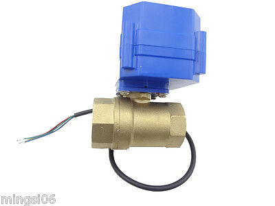 motorized ball valve,220v,2 way,DN15,electrical valve, motorized valve