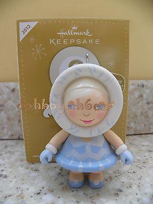 Hallmark Ornament 2012 FROSTY MYSTERY ORNAMENT Set of 3 Santa Fairy Astronaut