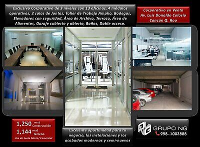 CORPORATIVO EN VENTA BLVD LUIS DONALDO COLOSIO CANCUN