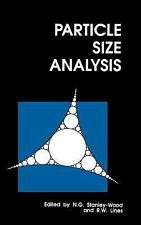 Particle Size Analysis: RSC (Special Publications), , , Very Good, 1992-01-01,
